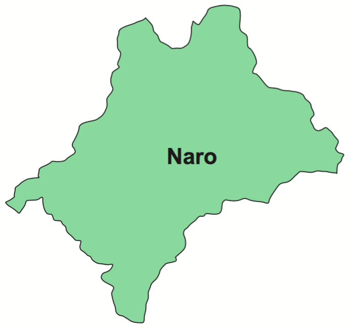 Naro Gewog map